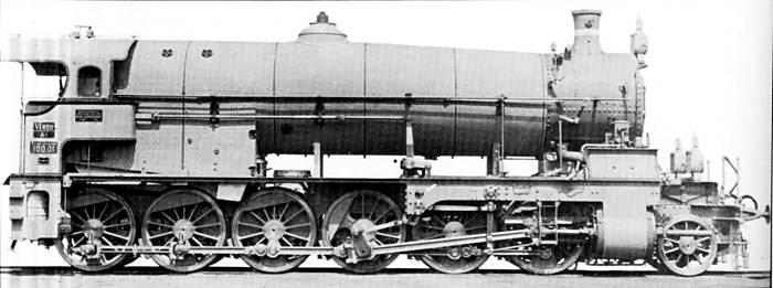 Twelve-coupled Locomotives
