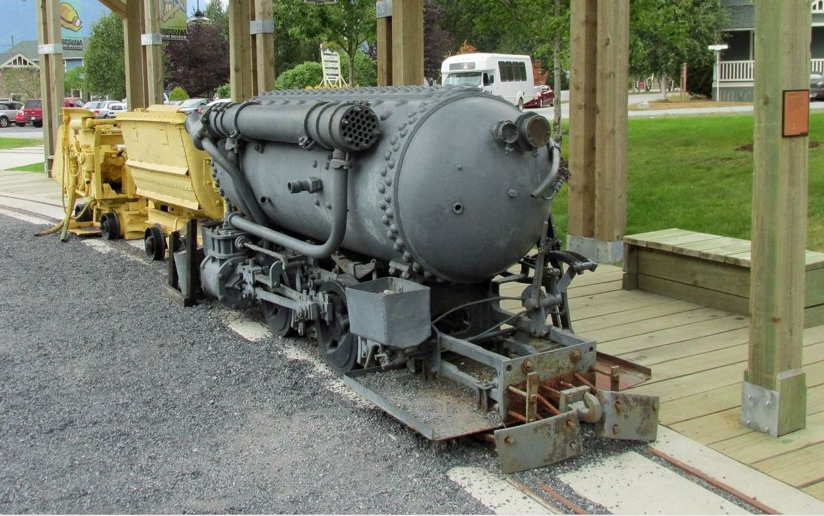 compressed air locomotives