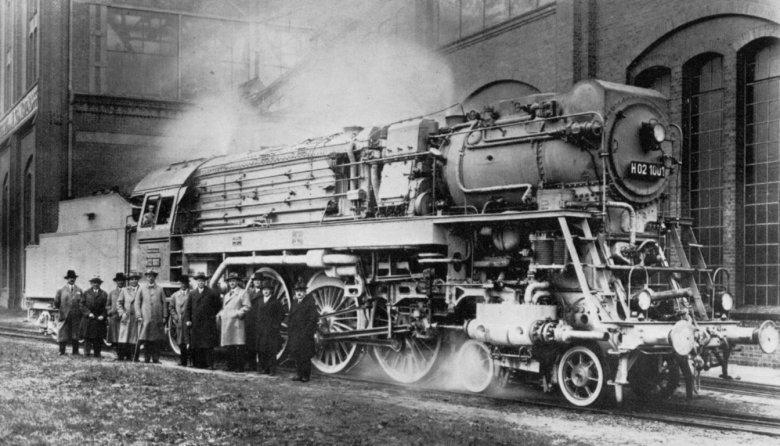 Hochdruck High Pressure German Locomotives