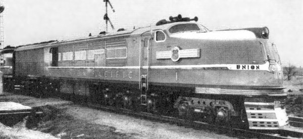 The Union Pacific Turbine Locomotive