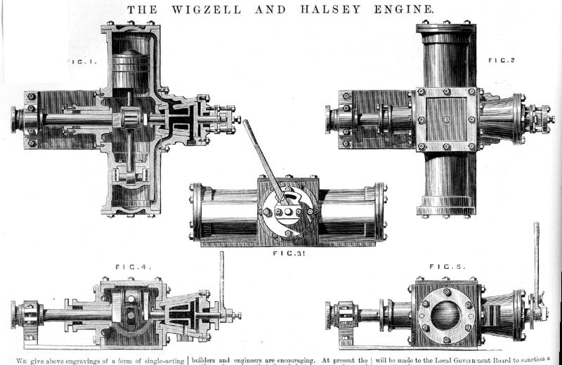 rotary valve steam engines