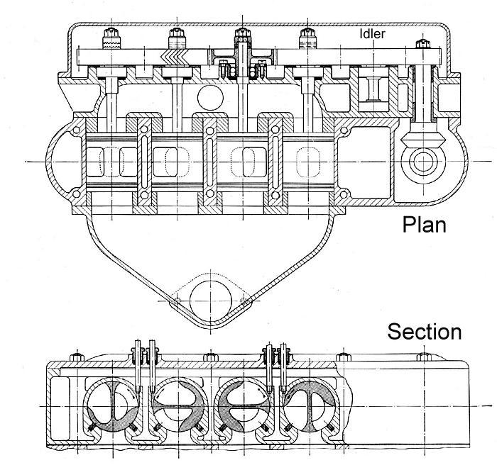 Rotary-Valve Internal Combustion Engines. Mechanical Engineering ...