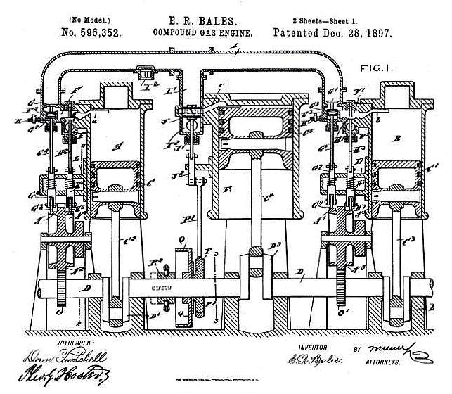 Compound Internal Combustion Engines – Labeled Diagram Of Internal Combustion Engine