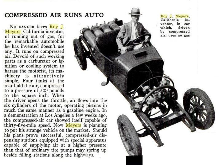Compressed Air Car >> Compressed Air Propulsion